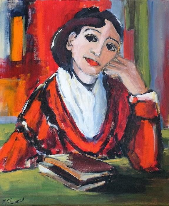 Madame Ginnou d'après Van Gogh.  Marie Ferrand