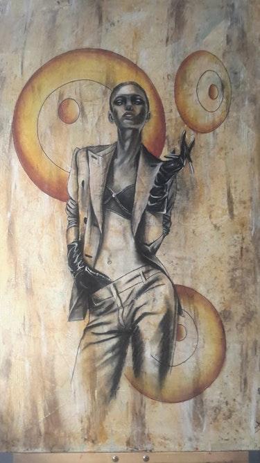La femme à la cigarette. Maya