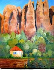 Provence - Les rochers des Mees.
