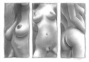 Joulia dessin de nue.