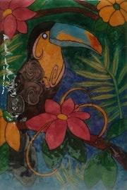 Le toucan. Martine Levillain