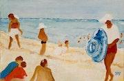 La plage, le plagiste.