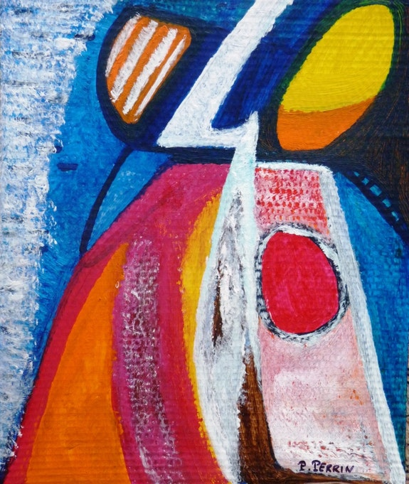 «Abstraction». Pierre Perrin2017 Piero