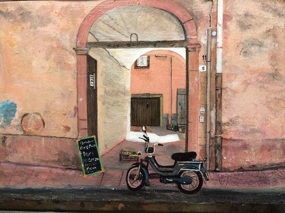 Bosa, Sardinia. Ann Fletcher Ann Carole Fletcher