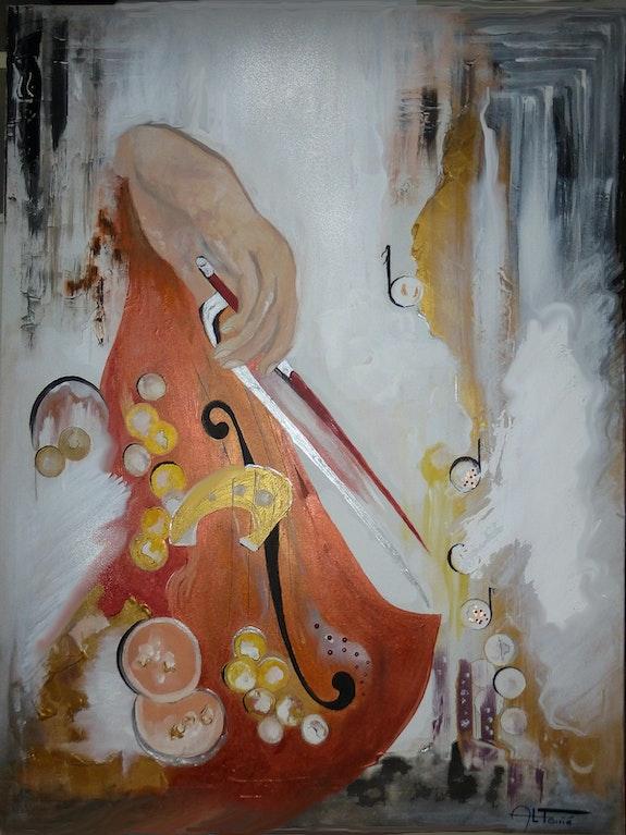 Le violon ou l'écho de l'extase. Anne-Lucie Tarrie Altarrié
