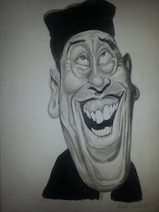 Don camillo caricature.