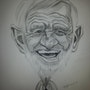 Belmondo caricature. Abdel Lakhdouri