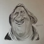 Gerard Depardieu caricature. Abdel Lakhdouri