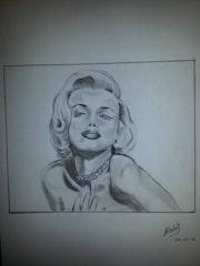 Maryline Monroe.
