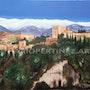 Alhambra panoramica fluo. Mario Pertiñez