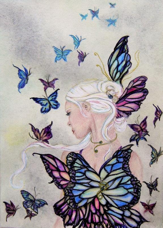 Danse des papillons- la métamorphose. Julie Rabischung Julie Rabischung