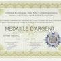 Diplome institut europeen des arts comtoporains. Paul Nebac