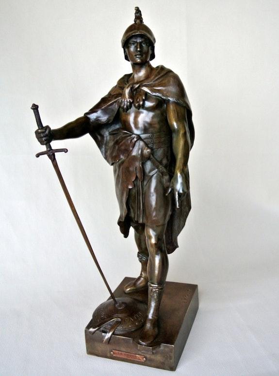 «Le Devoir» par E. Picault. Emile Picault Marc Menzoyan Antiquités