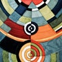 Hommage à Sonia Delaunay. Ericapoint