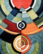 Hommage à Sonia Delaunay.