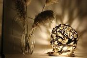 Lampe «sphere». Les Sens Du Bois Flotté