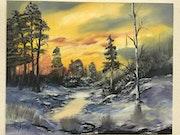 Paysage d'hiver 1.