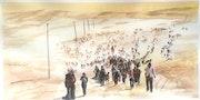 Toma tu mula, tu hembra y tu arreo, y sigue el camino del pueblo hebreo…. Julio Giménez