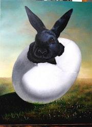 Rabbits serie/Black rabbit.