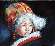 Tibétain. Nadine Sarrazit