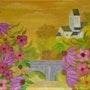 Fleurs à Saint Céneri le Gérei. Gerard Flohic