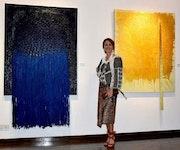 Voyage et lumière Exhibition - Etihad Modern Art Gallery Abu Dhabi.