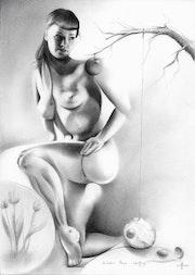 Bettie Page - 24-02-17. Corné Akkers Kunstwerken