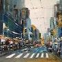 New York City. René Sausse