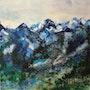 La montagne bleue.