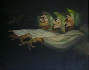 Les trois sorcières de Johann Heinrich Füssli.