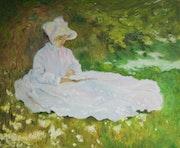La Liseuse Claude Monet.