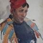 Mann mit Zigarette. Axel Zwiener