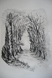 Sous bois. Jean-Pierre Lemoine
