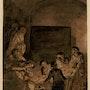 Ecole Flamande du 17è siècle, entourage de Rembrandt. Poncelin De Raucourt Fine Arts