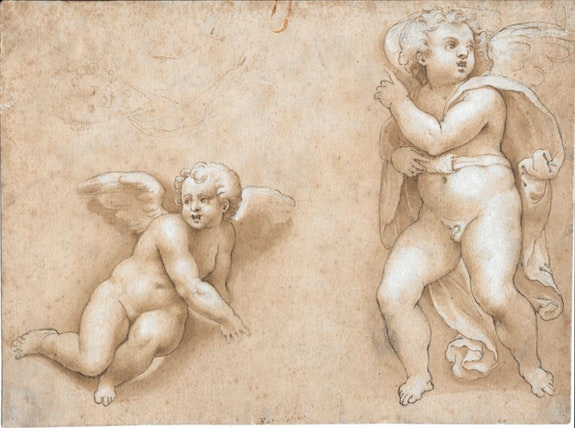 Drawings Dessin Italien Du 16e Siecle Entourage De Raphael 1483