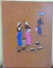 Femme à l'ombrelle. Jcr