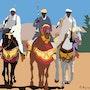 2015-05-04-Maroc-Sefrou-Fantasia. Jpg. Michel Normand