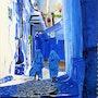 Ruelle de Chefchaouen (Maroc). Anthony Oliver