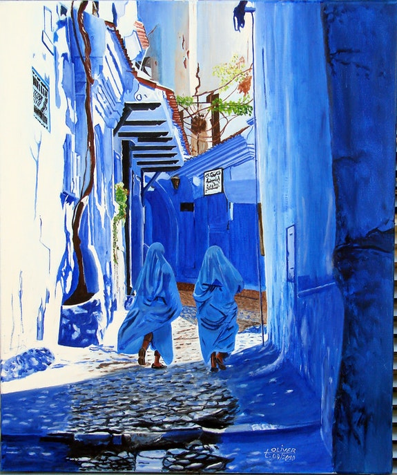 Ruelle de Chefchaouen (Maroc). Anthony Oliver Anthony Oliver