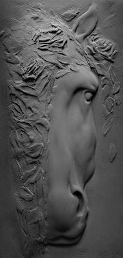 Gorgone déesse. Olga Antini