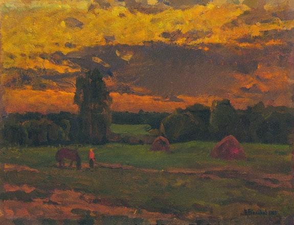 Green meadow. Vasily Belikov Vasily Belikov