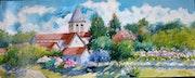 Le village de bruyeres et montberrault.