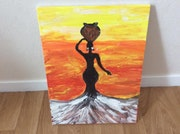L'heroïsme de la femme africaine. Mirella