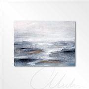 Blauer ozean / meer abstrakt.