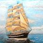 Le Belem Un très beau voilier français basé à la rochelle. Paul De Simone