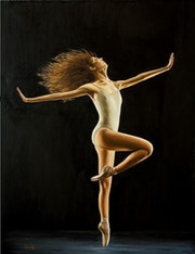 Dancing girl. Barry Davis