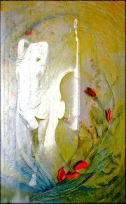 La femme au violon. Jean-Jacques Kindler