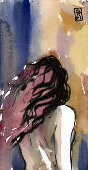 Le corps au vent. Serge Mogère