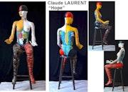 Mannequin «Hope». Artiste Peintre Sur Tous Supports