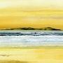 Coucher de Soleil sur l'île de Magador. Guy Jay